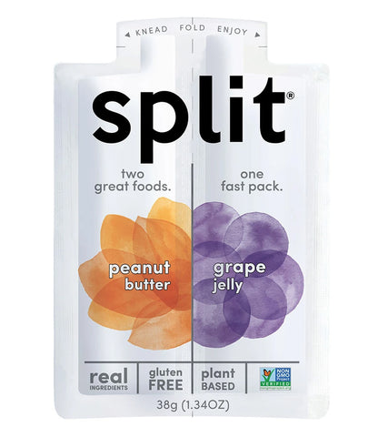 Split Peanut Butter & Grape