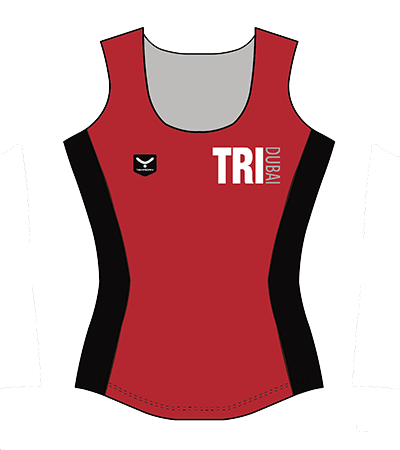 Taymory R46 Women Run Singlet TriDubai