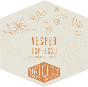 Vesper - Espresso Blend: 1 bag per 2 weeks for 3 months