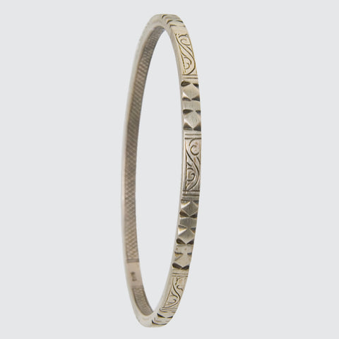 Traditional Nepali Carved Bangle