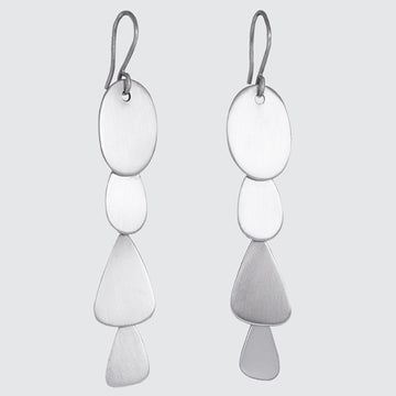 Abstract Organic Cascade Earrings