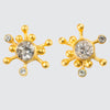 Big Bang Stud with Faceted Stones Earrings