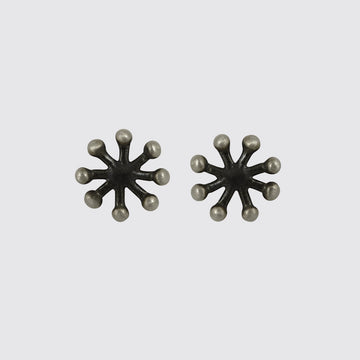 ATOMIC STUD EARRING