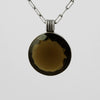 Round Faceted Pendant Necklace