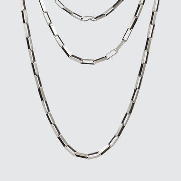 Short Box Chain Necklace