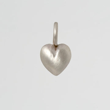 Small Puffy Heart Charm