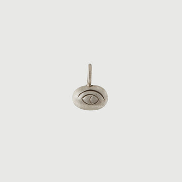 Etched Eye Amulet Charm