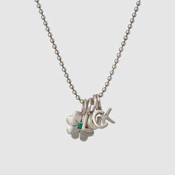 Lucky Shamrock Charm Necklace