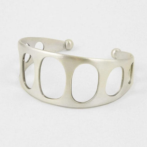 Mid-century Cut-Out Cuff