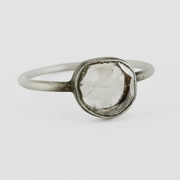 Diamond Slice Ring - Size 5