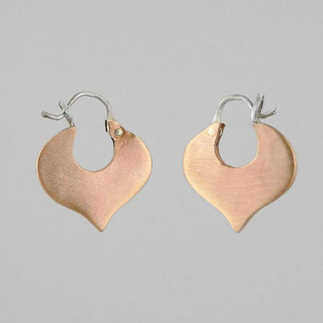 Small Alhambra Hoop Earrings
