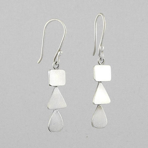 Small Organic Cascade Earrings