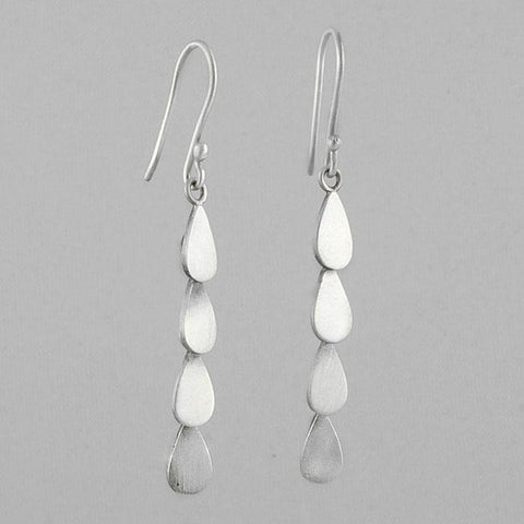 Tear Drop Cascade Earrings