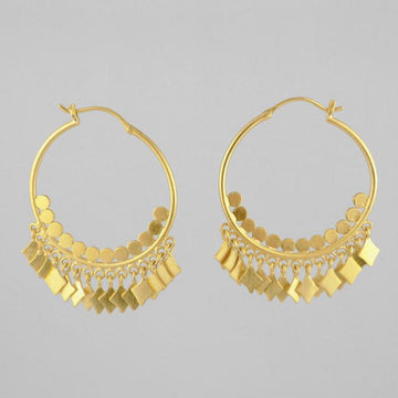 Pan Ethnic Princess Hoop Earring