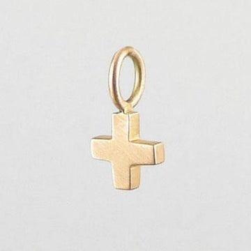 Tiny Equilateral Cross Charm