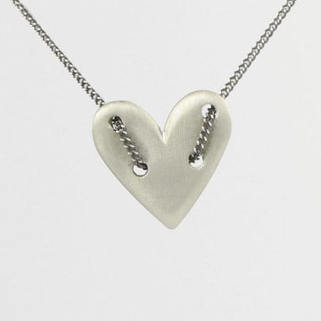 Threaded Heart Necklace