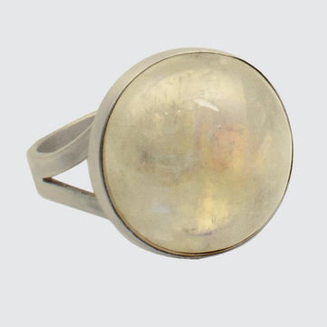 Round Cabochon Stone Ring
