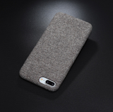 Ultra Thin Canva-Silicone IPhone Cases