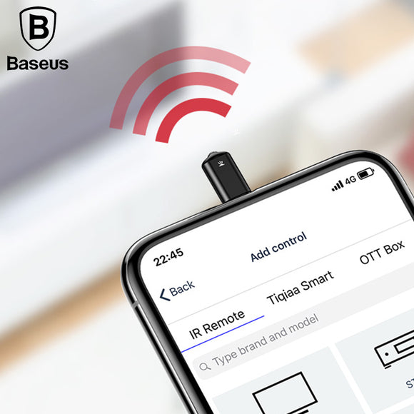 Baseus Infrared Remote Control for iPhone 6 7 8 X