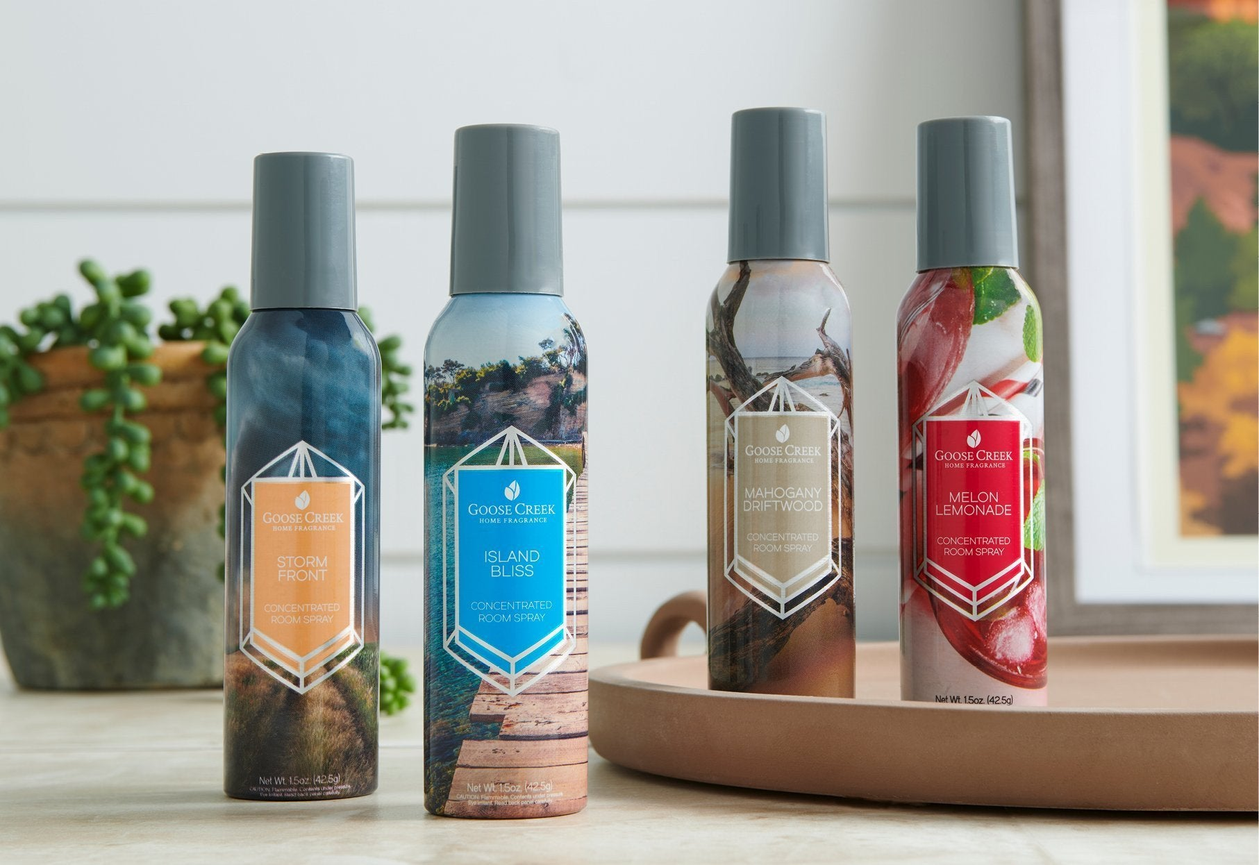 Enjoy A Refreshing And Uplifting Burst Of Fabulous Fragrance At Any Time With These Long Lasting Room Sprays From Goose Creek Goose Creek Candle Europe