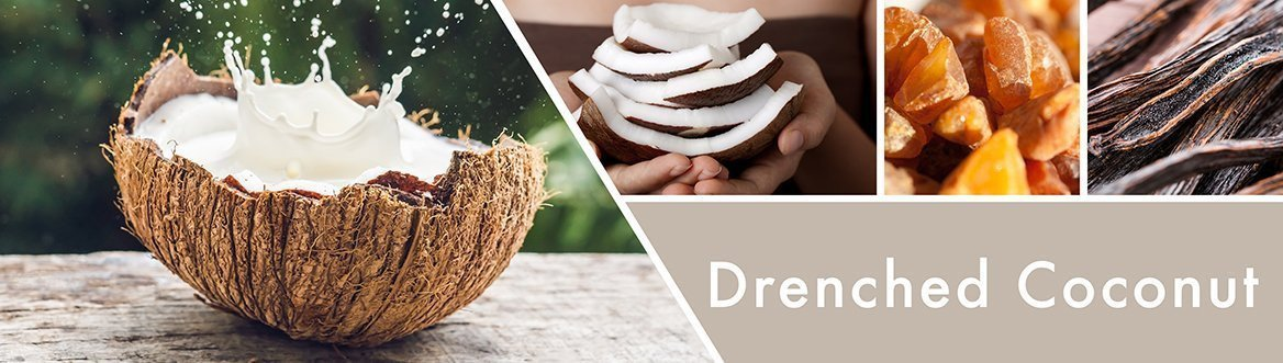 Drenched Coconut Fragrance