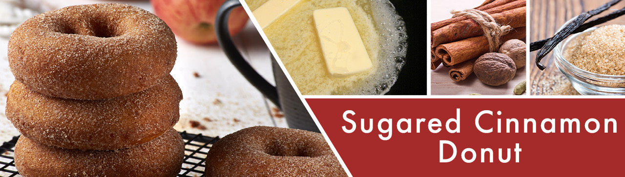 Sugared Cinnamon Donut Fragrance