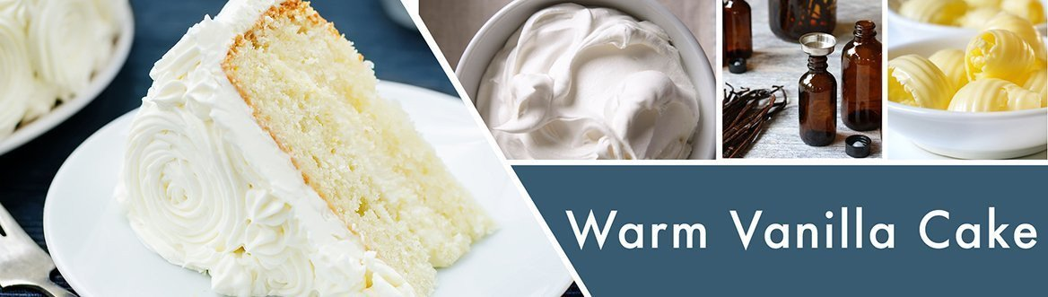 Warm Vanilla Cake Fragrance