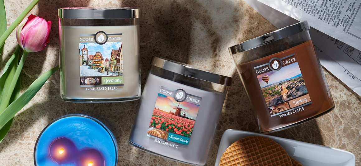 World Traveler Candles
