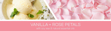 Vanilla Rose Petals Fragrance