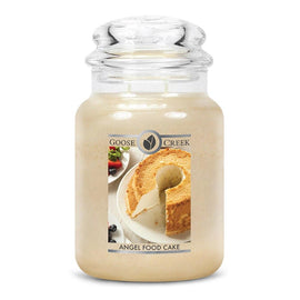 Angel Food Cake Large Jar Candle