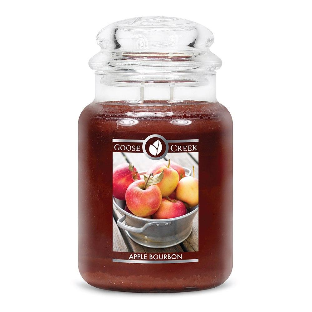 Apple Bourbon Large Jar Candle