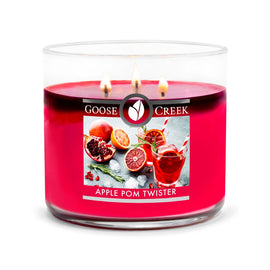 Apple Pom Twister Large 3-Wick Candle