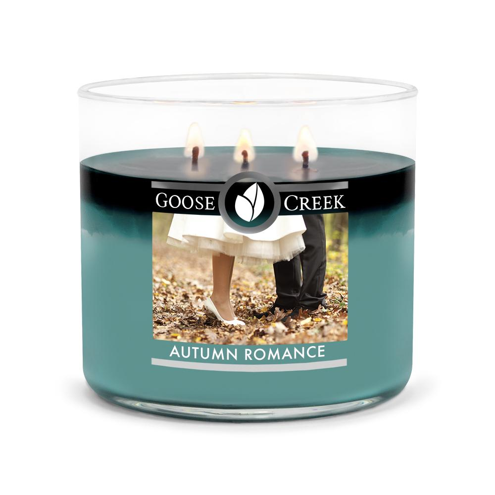 Autumn Romance Large 3-Wick Candle