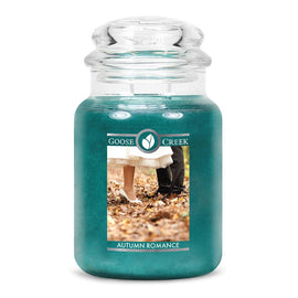 Autumn Romance Large Jar Candle