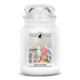 Baby Powder Large Jar Candle