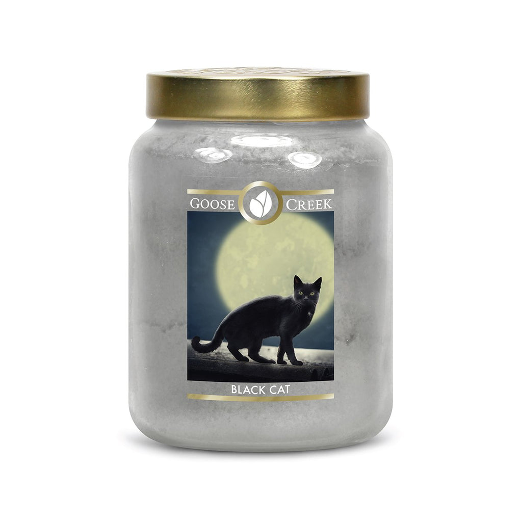 Black Cat Large Jar Candle