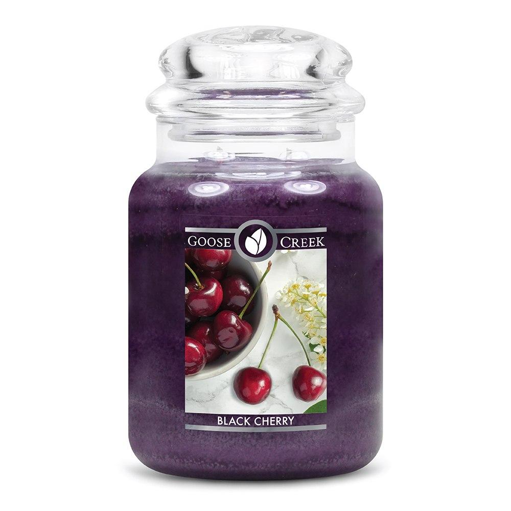 Black Cherry Large Jar Candle