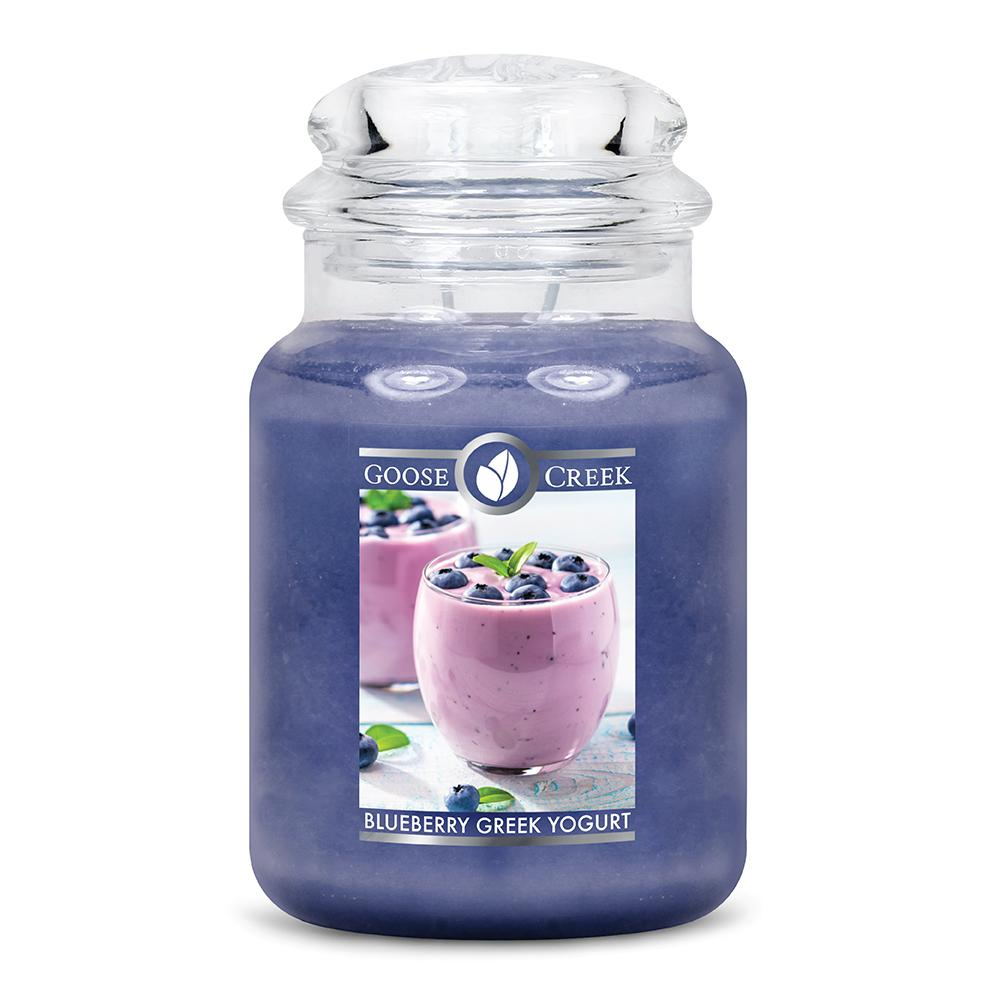 Blueberry Greek Yogurt Large Jar Candle