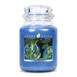 Blueberry Limeade Large Jar Candle