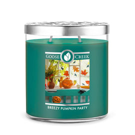 Breezy Pumpkin Party 16oz Large Jar Candle