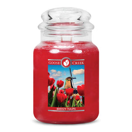 Breezy Tulips Large Jar Candle