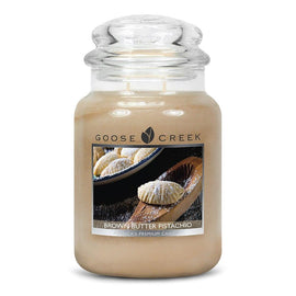 Brown Butter Pistachio Large Jar Candle