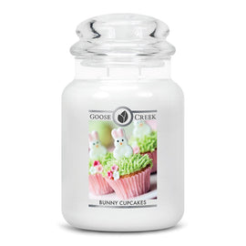 Bunny Cupcakes Large Jar Candle