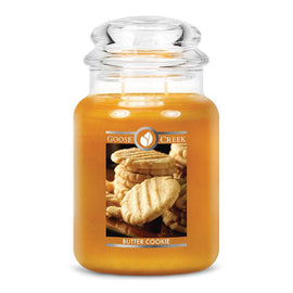 Butter Cookie Large Jar Candle