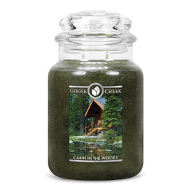 Cabin in the Woods Large Jar Candle