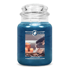 Calm & Cozy Large Jar Candle