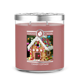 Candy Cottage 16oz Large Jar Candle