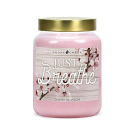 Cherry Blossom Artwork Candle