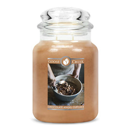 Chocolate Angel Cupcake Large Jar Candle