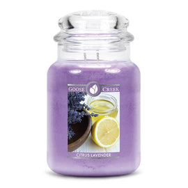 Citrus Lavender Large Jar Candle